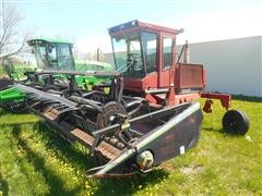 1989 Case International 6500 Swather