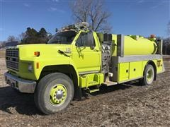 1984 Ford F8000 Rural 2000 Gallon Water Truck