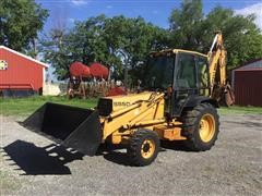 1992 Ford New Holland 555D 4x4 Loader Backhoe