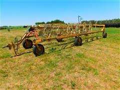 Vermeer WRX14 Hydraulic Front Fold 14 Wheel Rake