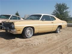 1974 Plymouth Valiant Gold Duster 2 Door Coupe