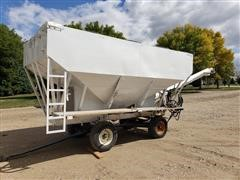 Willmar 16-Ton Stainless Steel 2-Bin Dry Tender Box
