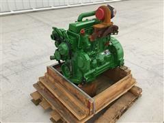 John Deere 4045T Turbocharged Diesel Engine