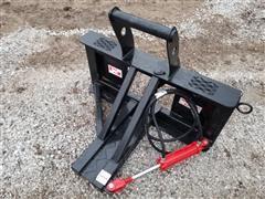 2020 Industrias America Skid Steer Mount Tree/Post Puller