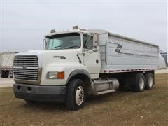 1994 Ford AeroMax L9000 T/A Grain Truck W/20' Bed And Hoist
