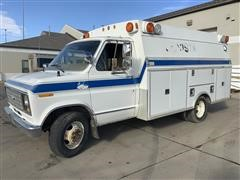 1984 Ford E350 Ambulance