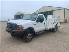 1999 Ford F550 2WD Service Truck