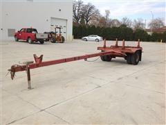 1986 Kiefer Built Mfg Utility Pole Trailer