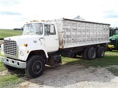 1986 Ford 8000 Diesel T/A Grain Truck