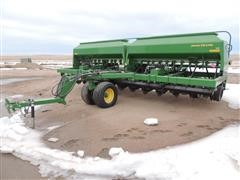 2012 John Deere 1590 No-Till Grain Drill W/Fertilizer Setup