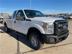 2012 Ford F250 Super Duty 4x4 Extended Cab Pickup