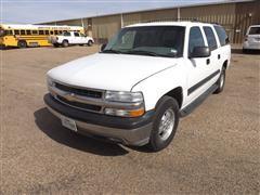 2002 Chevrolet 1500 8 Passenger Suburban