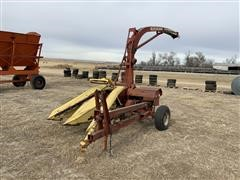 New Holland 718 2 Row Forage Harvester