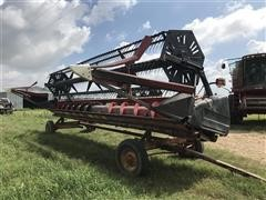 1995 Case 1020 25' Flex Header