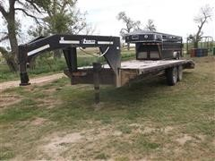 1998 Temco T/A Flatbed Trailer