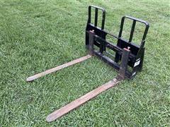 MDS 5515-WT Skid Steer Pallet Forks
