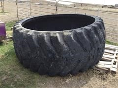 8' Wide Rubber Tire Water Tank