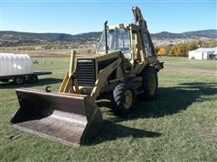 1989 Caterpillar 436 4WD Loader Backhoe