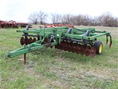 John Deere 714 11 Shank Soil Savor W/Spring Loaded Disk Gang