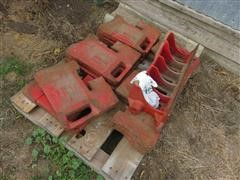 International 75 Lb Front Tractor Weights & Bracket