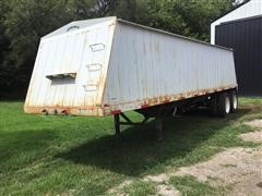 1995 White 30' T/A Grain Trailer