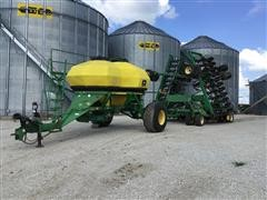 John Deere 1850 Air Seeder & 1900 Cart