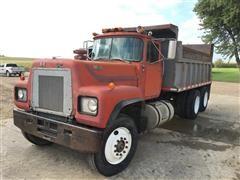 1983 Mack R754ST T/A Dump Truck