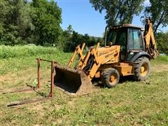 1995 Case 580 Super L 4x4 Loader Backhoe