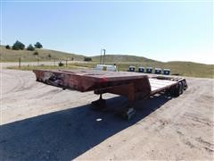 1969 Brown T/A Flatbed Trailer