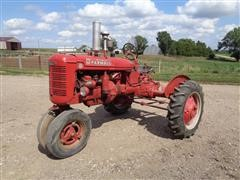 1945 International Farmall B Culti-Vision Compact Utility Tractor