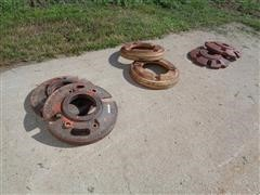 Various Style Tractor Rear Wheel Weights