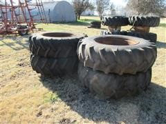 18.4-34 Traction Tires & Rims