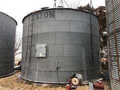 Eaton 24' Diameter 6 Ring Grain Storage And Drying Floor