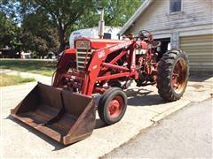 1958 Farmall 560 2WD Tractor & WL21 Loader