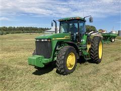 2001 John Deere 8210 MFWD Tractor