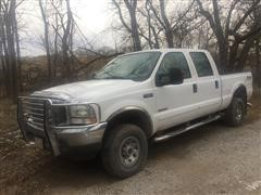 2003 Ford F250 SRW Super Duty 4x4 Crew Cab Pickup