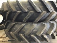 380/85 R34 Mounted Tractor Tires