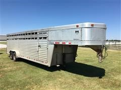 2001 Cherokee Livestock Trailer