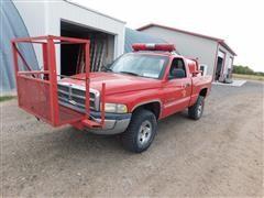 2001 Dodge Ram 1500 4x4 Pickup w/Fire Spray Ring