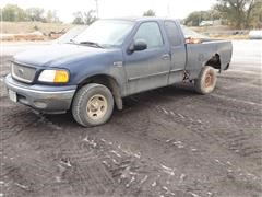 2004 Ford F150 4x4 Extended Cab Pickup