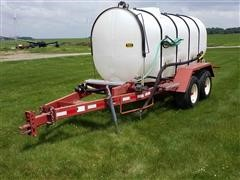 Ag Systems AG1250 1250-Gallon T/A Nurse Tank Trailer