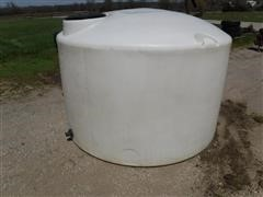 1200 Gallon Poly Tank