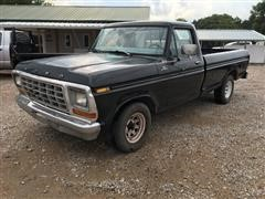 1979 Ford F150 Ranger 2WD Long Box Pickup