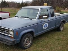1986 Ford Ranger Super Pickup