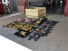 DEWALT & Husky Battery Operated Tools