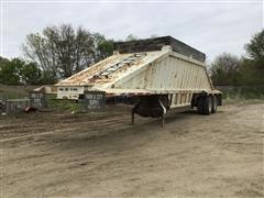 2009 Construction Trailer Specialists BDT-42 Tri/A Belly Dump Trailer