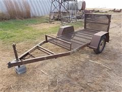 1980 Shop Built S/A Utility Trailer