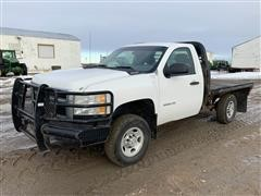 2010 Chevrolet 2500HD 4x4 Pickup