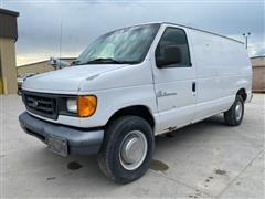 2006 Ford Econoline E350 Super Duty Cargo Van