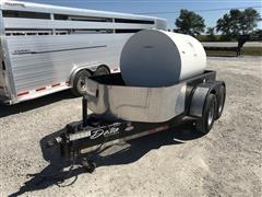 Delta Fuel Hog 500 Gallon T/A Fuel Trailer